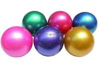 Мяч для х/гимнастики арт.АВ2801В металлик 19см, 420г