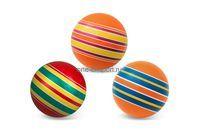 Мяч резиновый (детский) 100 мм Полосатики арт.Р3-100