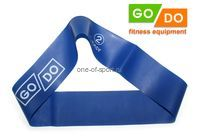 Эспандер петля латекс GO DO (650х50х0,5мм) синий (2)