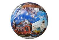 Мяч ф/б Welcome to Russia сшитый,слой 2,2мм,290г арт.5212379 (5210378)