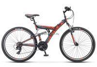 Велосипед Stels Focus V Mod.1 26 (цв.т.синий/оранжевый)