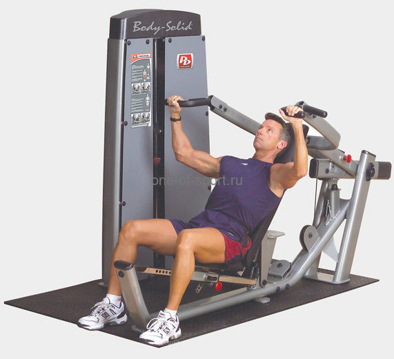 Body Solid ProDual DPRS-SF Жим от груди и плеч