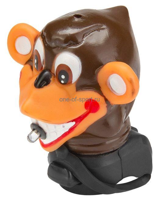 Велозвонок клаксон (обезьяна со свет. диод.) CHL-1001MN