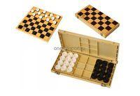 Шашки с шахматной доской пластик (30х30х28см) г.Владимир
