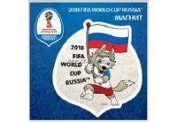 "FIFA-2018 Магнит картон Забивака ""Болеем за наших!"" арт.CH518"