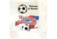 Магнит Welcome to Russia винил 5х7см Флаг арт.5181017