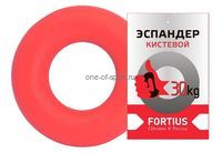 Эспандер кистевой 30кг Fortius (красн)