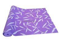 Коврик для йоги Tempus арт.LKEM-3007 173х61х0,4см (рисунок, фиолет)