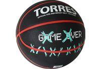 Мяч б/б Torres Game Over №7 арт.В02217 (NEW)