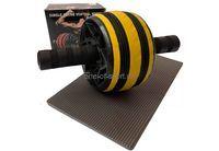 Ролик гимнастический широкий (+коврик под колени) арт.ABR-145W