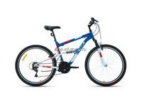 Велосипед Altair Mtb FS 26 (р.16, цв.т.серый/оранжевый)